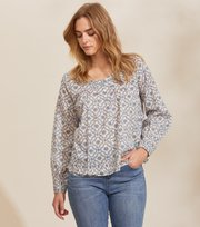 Odd Molly - Josephine Bluse - MORNING BLUE