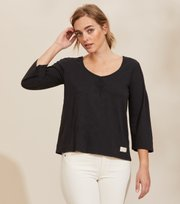 Odd Molly - Elly Top - ALMOST BLACK