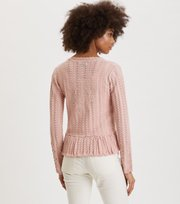 Odd Molly - Garden Walk Cardigan - SMOKE ROSE