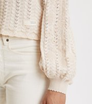 Odd Molly  - Bloomy Garden Cardigan - CHALK
