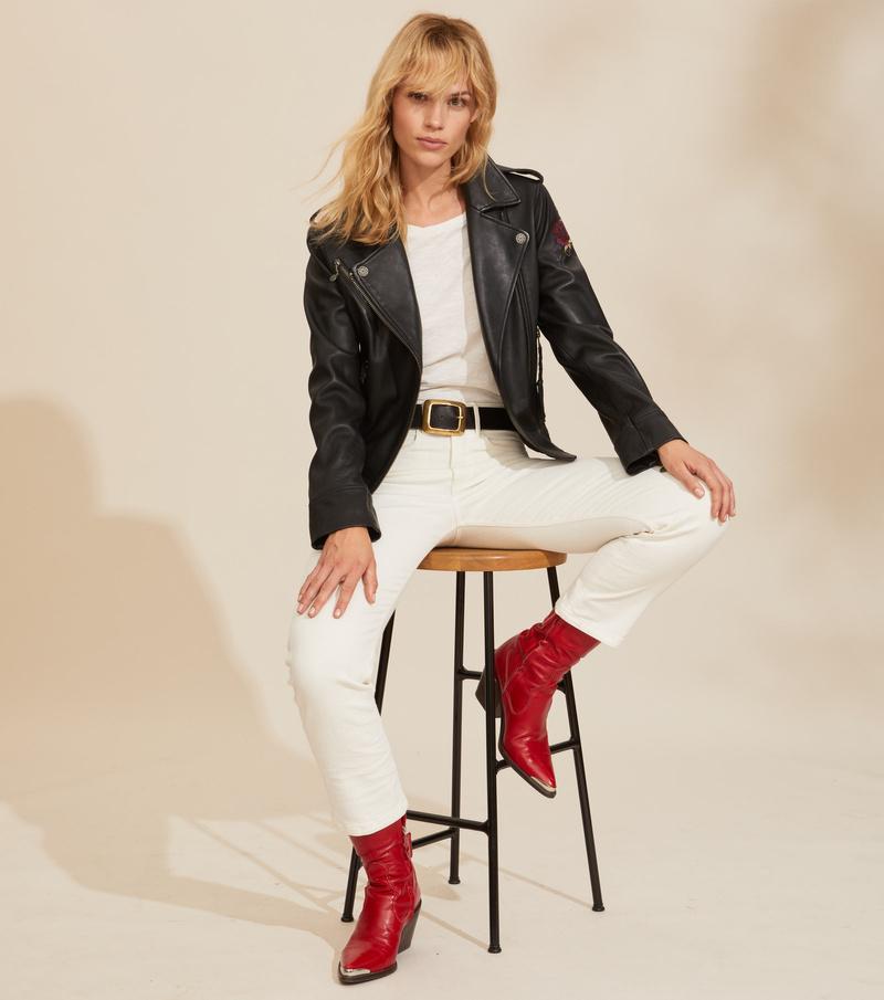 Jemima Leather Jacket