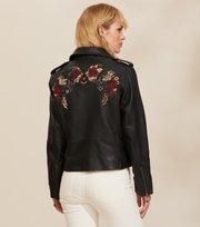 Odd Molly - Jemima Leather Jacket - ALMOST BLACK