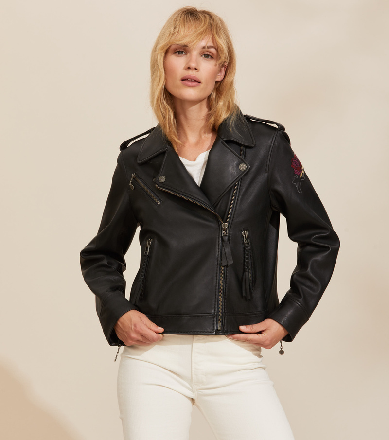 Jemima Leather Jacket