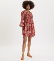 Odd Molly - Picnic Dress - PINK BLOSSOM