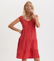 Odd Molly - Always Sunny Dress - RED RASPBERRY