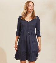 Odd Molly - Always Sunny L/S Dress - DARK BLUE
