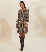 Odd Molly - Felice Dress - ALMOST BLACK