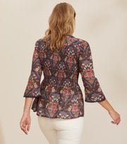 Odd Molly  - Felice Blouse - DARK BLUE