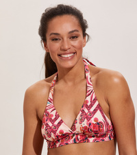 Safety Halter Top Printed