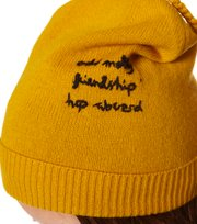 Odd Molly - solid rose beanie - YELLOW