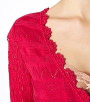 Odd Molly - avoriaz knit tunic - DARK PINK