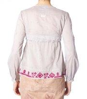 Odd Molly - sigh blouse - LITE GREY
