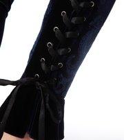 Odd Molly - velvet stretch pant - DARK INDIGO