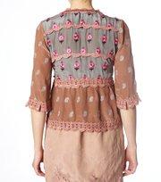 Odd Molly - opulent blouse - DARK POWDER