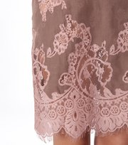 Odd Molly - pistil silk dress - VINTAGE BROWN