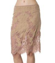 Odd Molly - pistil silk skirt - POWDER